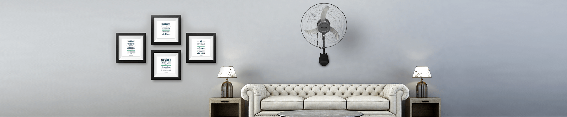 Air Circulator Wall Fan